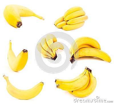 Set of bananas