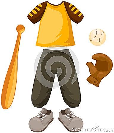 Set of baseball