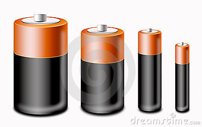 Set of battery