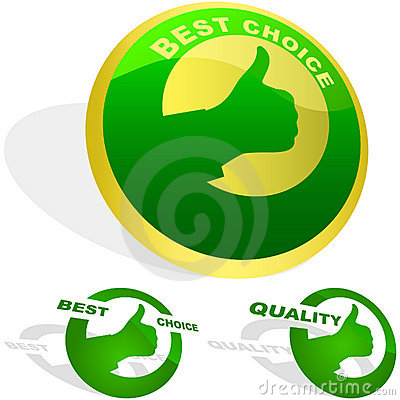 Set of best choice labels