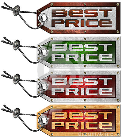 Set Best Price Tags - 4 Items