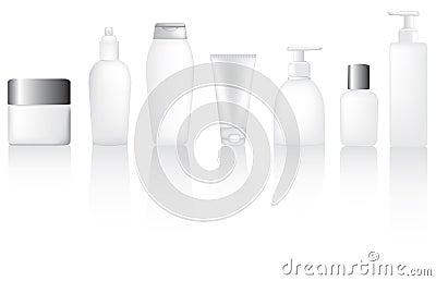 Set of bottles