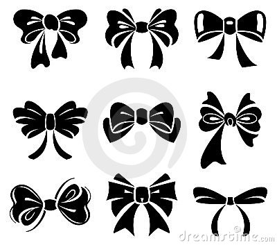 Set of bow