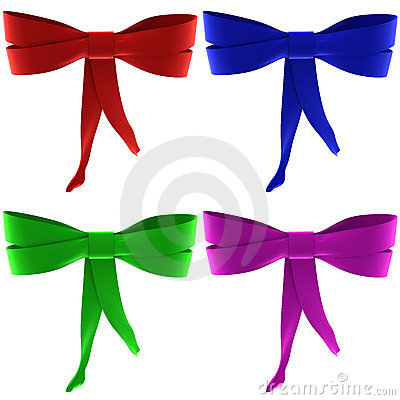 A set of bows