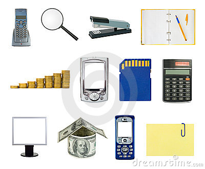 Set of business objects