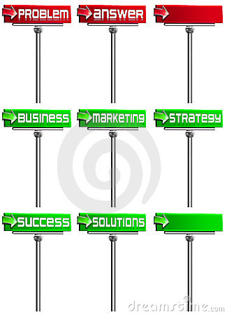 Set Business Signs