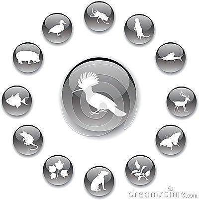 Set buttons - 98_A. Nature
