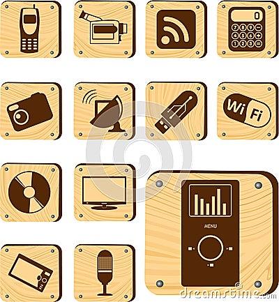 Set buttons - 177_W. Hi-tech and Digital