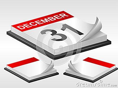 Set of calendars