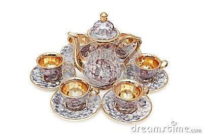 Set of chinaware
