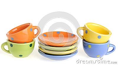 Set color kitchenware