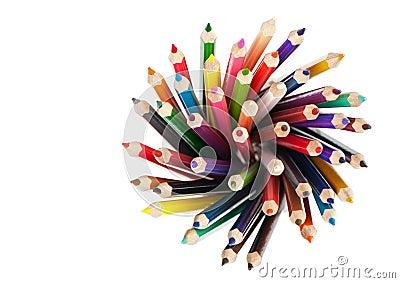 Set color pencil