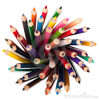 Set color pencil