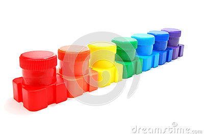 Ink Cans Rainbow