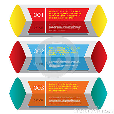Set of Colorful Horizontal Banners.