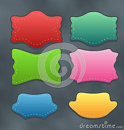 Set colorful variation labels or discount