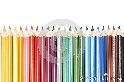 Set of colour pencils
