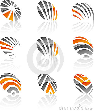 Set of Company symbols.