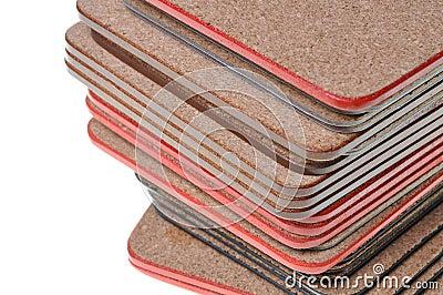 Set cork mats