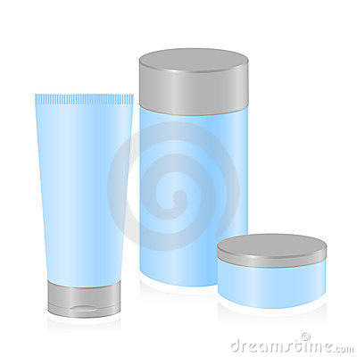 Set of cosmetic container