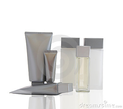 A set of cosmetic products