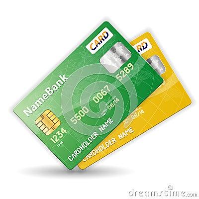 Set of Credit Cards
