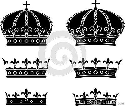 Set of crowns