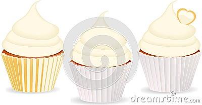 Cupcakes vanilla