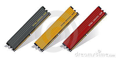 Set of DDR3 memory modules