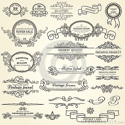 Set Of Design Elements