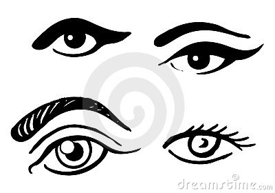 Set Of Different Eyes Stock Images - Image: 15282194