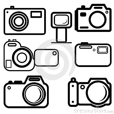 Set of digital cameras