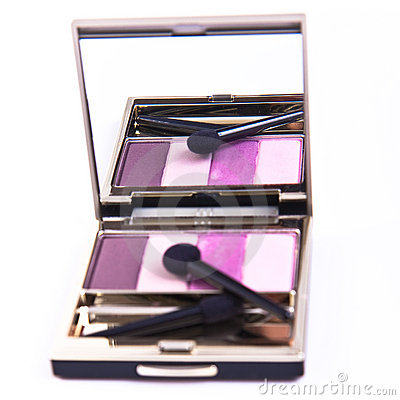 Set of eyeshadows
