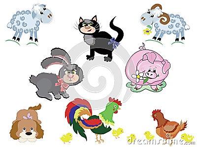 Set farm animals