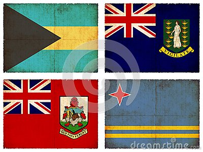 Set of flags from Central America #3