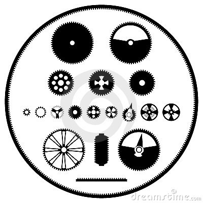 A set of gears