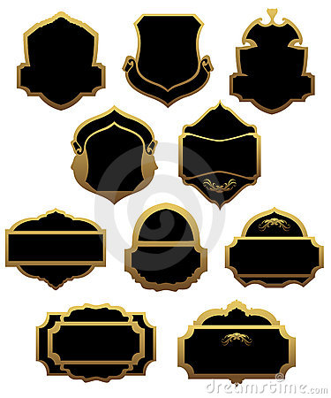 Set of golden labels and frames