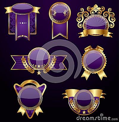 Set of golden labels,vector