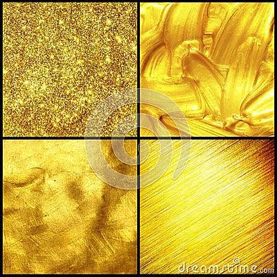 Set golden texture.
