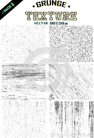 1 set grunge texture vector simply and easy to use Cartoon Illustration