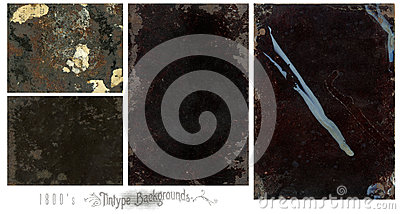 Tintype backgrounds