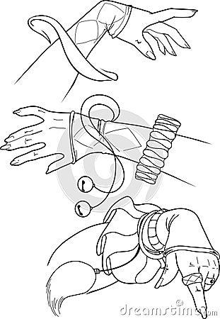Set hands