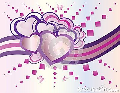 Set of heart