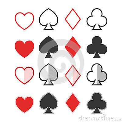 Heart Spade Diamond Club