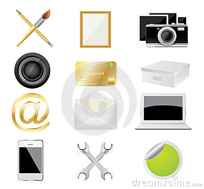 Set of icon,vector