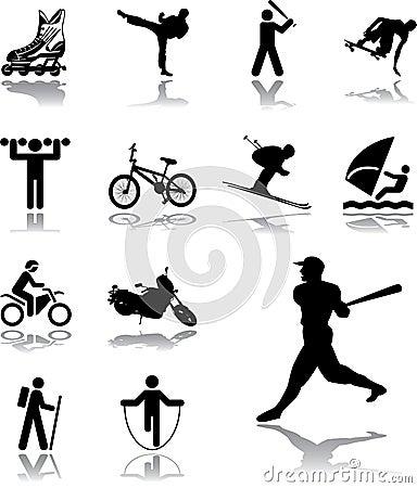 Set icons - 105. Sport