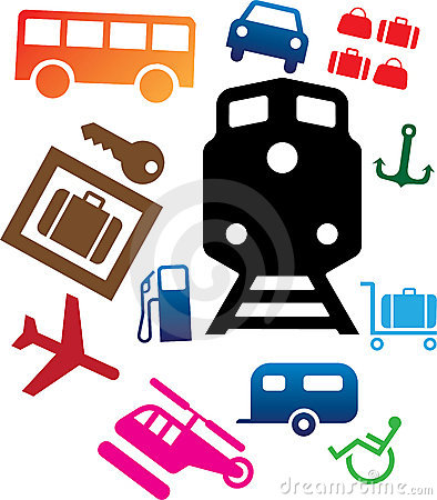 Set icons - 107C. Transport icons
