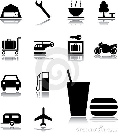 Set icons - 131. Transport icons
