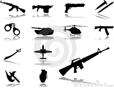 Set icons - 154. Weapon