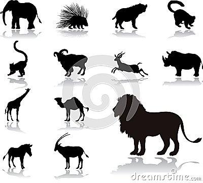 Free Set Icons - 25. Animals Stock Photos - 5534713